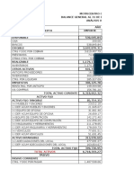 Finanzas vertical y horizontal