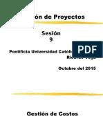 Gestión de Proyectos Sesión 09