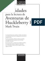 Aventuras de Huckleberry Finn (Guía de Actividades)