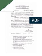 Gutkha Ban Assam Notification 2013