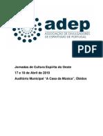 Dossier-jornadas Adep 2010