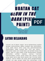 Pembuatan Cat Glow in the Dark