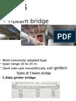 Slab girder bridge
