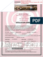 Drury Hotel Application and Interview Usa