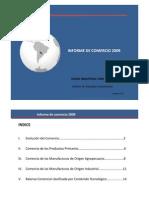 Informe comercio en Paraguay  2009