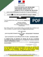 """Convocation d'Igor portant mention du """"maintien"""" des droits sociaux"""