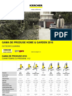 Gama de Produse 2016 Home & Garden KARCHER - www.sculegero.ro