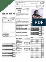 Personaje prefabricado de rol D&D 4