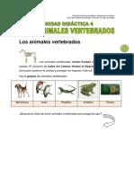 5 Los Animales Vertebrados (Unidad 4)