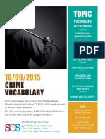Crime Topics - Bản Miễn Phí