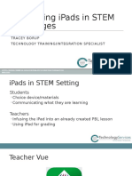 integrating ipads in stem challenges