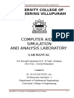Me2404 Ansys Lab Manual