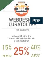 2016 Webdesign Trendek - Webdesign újratöltve