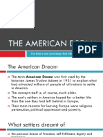 american dream lecture