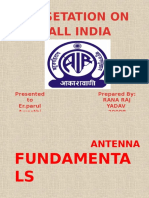 ALL INDIA RADIO PRESENTATION