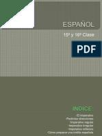 ESPAÑOL A1