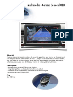 Multimedia Camera de Recul Oem