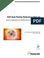K20P64M72SF1RM - Famlily User Guide