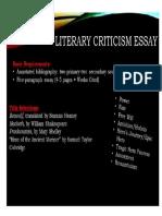 lit crit topics