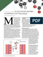 More than a mycotoxin binder… Anta®Ferm MT FlavoMax