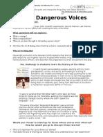 unit4introductiondangerousvoices honors2015  1