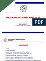 Yoga, un complemento para las Artes Marciales