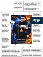 The Bourne Identity Poster Analysis