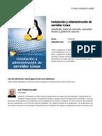 Instalacion y Administracion de Servidor Linux by Blade