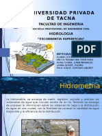 Analisis de Hidrogramas de Creciente