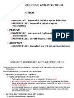 IMMUNITE SPECIFIQUE ANTI-INFECTIEUSE.ppt