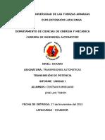 Informe Grupo 4 Audi a8 2003nuevo