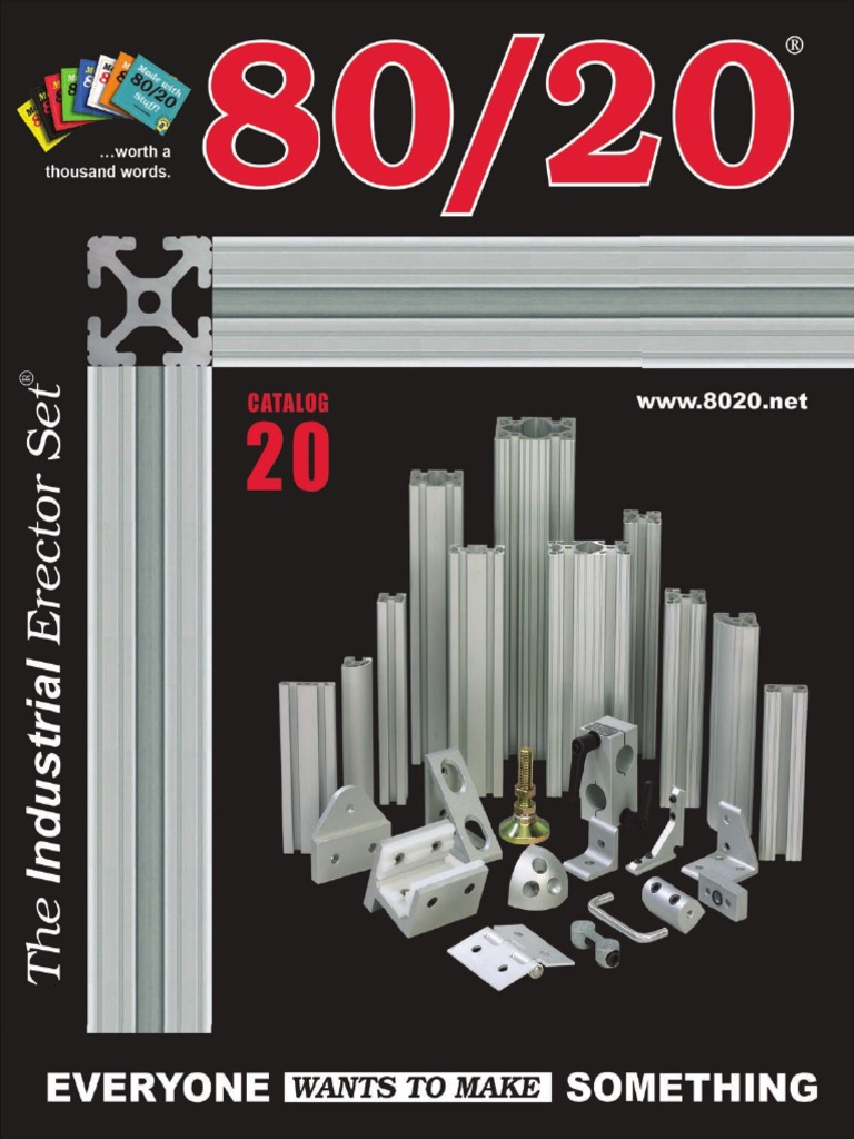 80//20 Inc 13038 15 and 40 Series 1//4-20 Tall Self Aligning Roll in T-Nut with Spring Leaf 25 Pack