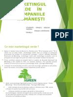 Marketingul Verde În Companiile Române