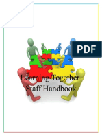 learning together staff handbook
