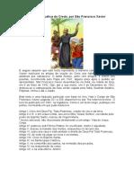 Explicação Catequética Do Credo-Francisco Xavier