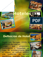 Hoteles ppt