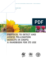 (3) Protocol to Detect and Assess Pollination Deficits in Crops
