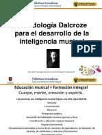 Metodologia Dalcroze Catalina Rubio