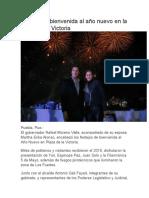 02-01-2016 Soy SD - RMV Da La Bienvenida Al Año Nuevo en La Plaza de La Victoria