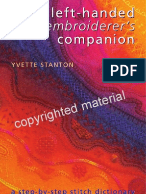 PREVIEW The Left-Handed Embroiderer's Companion: a step-by