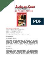 Macaluso Pamela - Una Boda en Casa