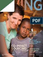 doTERRA aromaterápiás LivingMagazine (2015 tavasz-nyár)