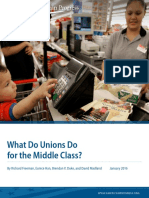 What Do Unions Do for the Middle Class?