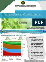 Dadan Rusdiana Empowering Bioenergy Policies Implementation