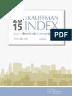The Kauffman Index 2015