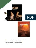 Análisis de 3 películas desde las Ciencias Sociales