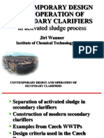 Secondary Clarifiers
