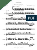 Toy Piano - Full Score