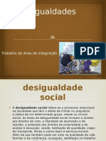 As Desigualdades Sociais