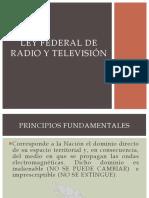 Ley Fed Radio TV